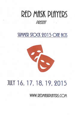 Summer One Acts 2015