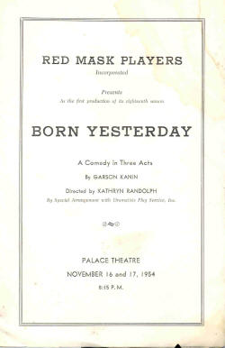Born Yesterday (1954)