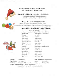 Christmas Shows 2012