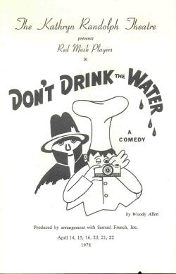Don't Drink the Water (1978)