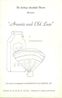 Arsenic and Old Lace 1970