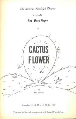 Cactus Flower 1970