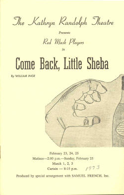 Come Back Little Sheba