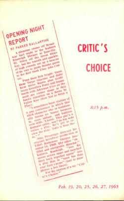 Critics Choice