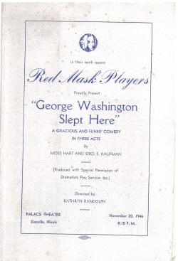 George Washington Slept Here (1946)