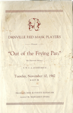 Out of the Frying Pan (alternate cover)