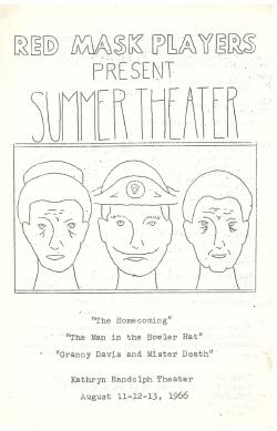 Summer Theater 1966